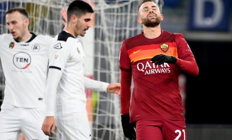 نتيجة مباراة روما ضد سبيزيا كالتشيو في كأس إيطاليا