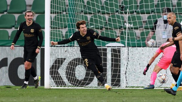 نتيجة وأهداف مباراة برشلونة ضد إلتشي في الدوري الإسباني