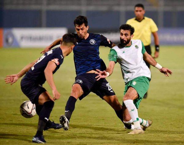نتيجة مباراة بيراميدز ضد المقاولون العرب بالدوري المصري