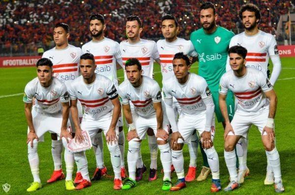 التشكيل الرسمي لمباراة الزمالك وطلائع الجيش في الدوري المصري