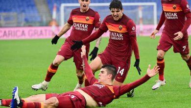 التشكيل الرسمي لمباراة روما ولاتسيو في الدوري الايطالي