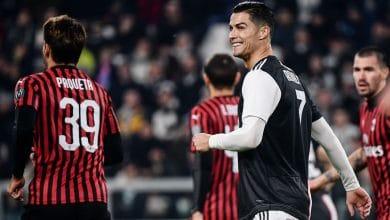 موعد مباراة ميلان ويوفنتوس والقنوات الناقلة في الدوري الإيطالي