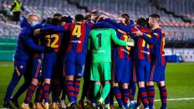 نتيجة مباراة برشلونة ضد كورنيلا في كأس ملك إسبانيا