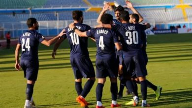 التشكيل الرسمي لمباراة سموحه ضد بيراميدز في الدوري المصري