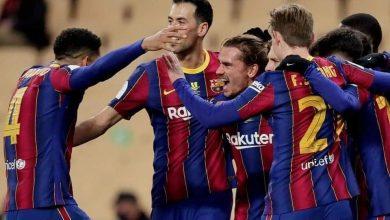تشكيل مباراة برشلونة ضد كورنيلا في كأس ملك إسبانيا