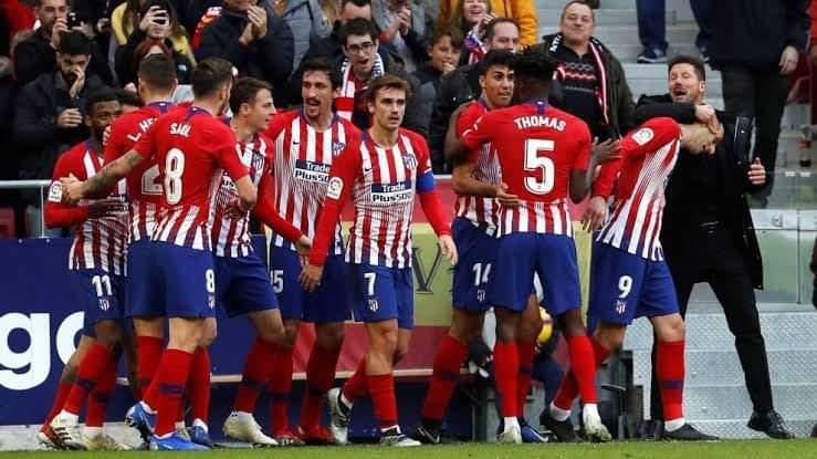 نتيجة مباراة أتليتكو مدريد ضد إيبار في الدوري الدوري الاسباني