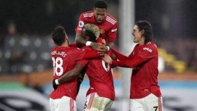 نتيجة وأهداف مباراة مانشستر يونايتد ضد فولهام في الدوري الإنجليزي