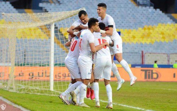 نتيجة مباراة الزمالك وطلائع الجيش في الدوري المصري
