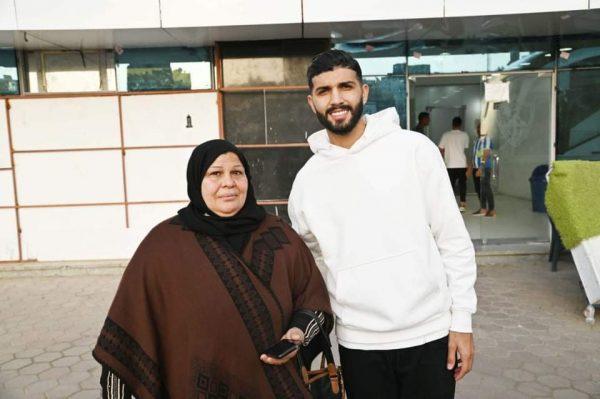 فرجاني ساسي يستقبل السيدة سوزان محمد قنديل