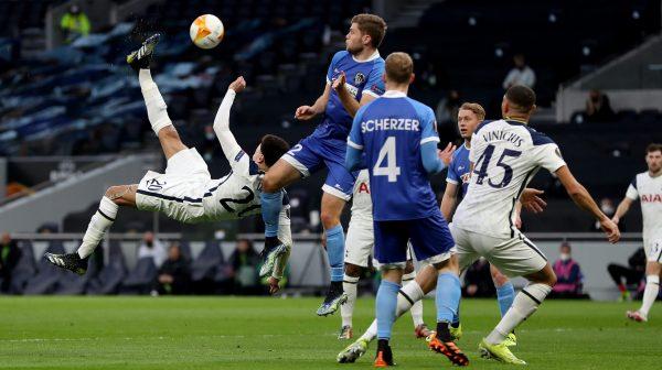 نتيجة مباراة توتنهام اليوم ضد ولفسبيرجر في الدوري الأوروبي