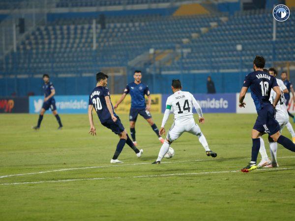نتيجة مباراة بيراميدز ضد الجونه في الدوري المصري