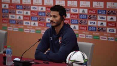 محمد الشناوي : جاهزون للفوز على بالميراس وهدفنا الميدالية البرونزية