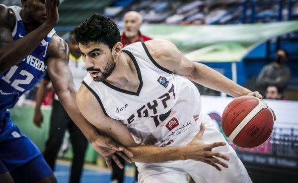 أنس أسامة لاعب منتخب سلة مصر