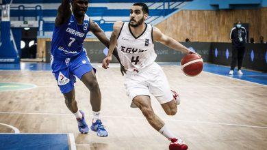 إيعاب أمين لاعب منتخب مصر لكرة السلة
