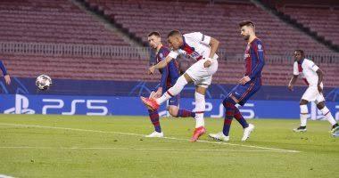 أهداف باريس سان جيرمان اليوم ضد برشلونة في دوري أبطال أوروبا