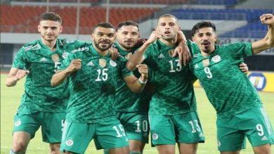 تشكيل مباراة الجزائر اليوم ضد بوتسوانا في تصفيات أمم إفريقيا