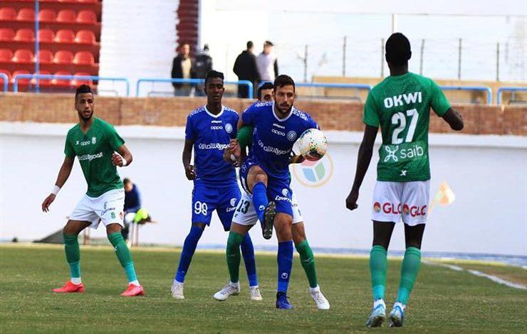 نتيجة مباراة الاتحاد السكندري ضد إنبي في الدوري المصري
