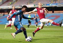 نتيجة مباراة أرسنال ضد بيرنلي في الدوري الأنجليزي