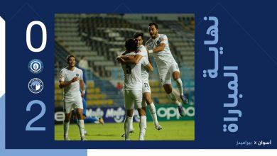 نتيجة مباراة أسوان ضد بيراميدز في الدوري الممتاز المصري