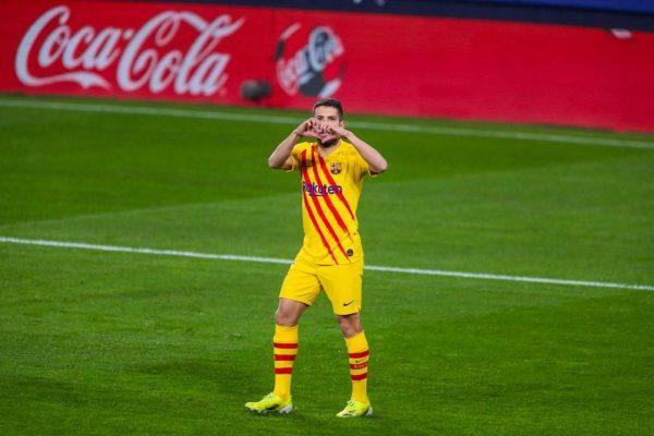 نتيجةمباراة برشلونة ضد أوساسونا في الدوري الإسباني