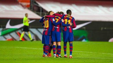 نتيجة مباراة برشلونة ضد ويسكا في الدوري الإسباني