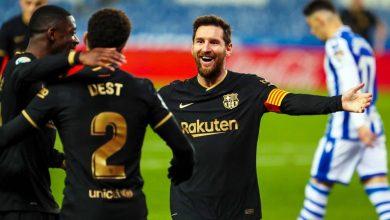 أهداف مباراة برشلونة ضد ريال سوسيداد في الدوري الاسباني