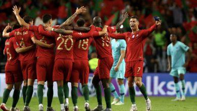 تشكيل مباراة منتخب البرتغال ضد إذربيجان في تصفيات كأس العالم 2022