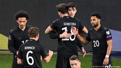 نتيجة مباراة المانيا ضد مقدونيا الشمالية في تصفيات كأس العالم 2022