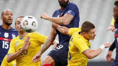 نتيجة مباراة فرنسا ضد أوكرانيا في تصفيات كأس العالم 2022