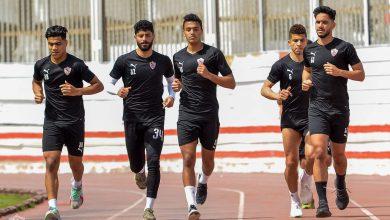 مران الزمالك .. تدريبات بدنية للاعبين في مجمع الصالات