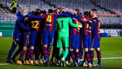 مشاهدة بث مباشر مباراة برشلونة وبلد الوليد اليوم 05-04-2021