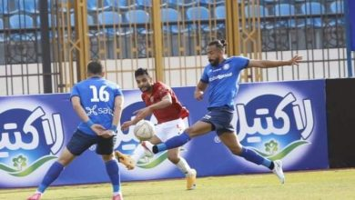 نتيجة مباراة غزل المحلة ضد سموحة بالدوري المصري